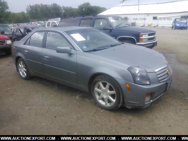 Used 2004 CADILLAC CTS Sedan car For Sale At AuctionExport
