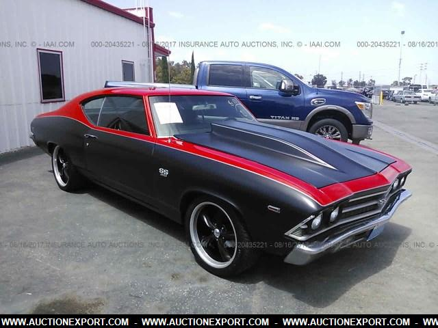 used 1969 chevrolet chevelle ss car for sale at auctionexport. Black Bedroom Furniture Sets. Home Design Ideas