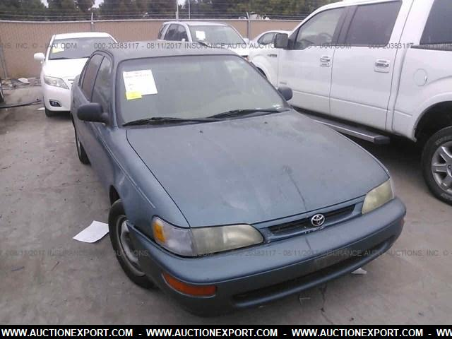 used 1996 toyota corolla car for sale at auctionexport. Black Bedroom Furniture Sets. Home Design Ideas