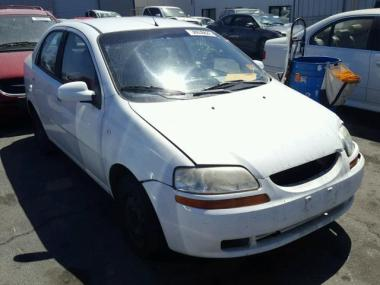 used 2006 chevrolet aveo car for sale at auctionexport. Black Bedroom Furniture Sets. Home Design Ideas
