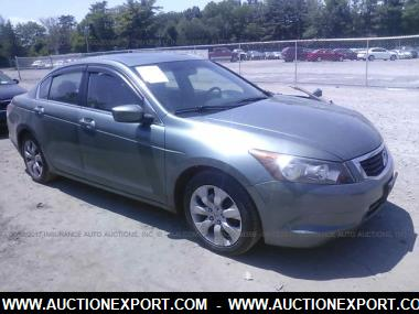 used 2009 honda accord ex l car for sale at auctionexport. Black Bedroom Furniture Sets. Home Design Ideas