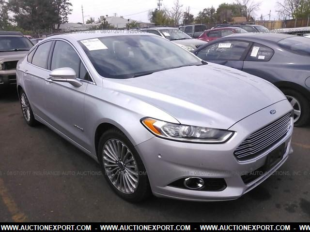 Ford Fusion Hybrid For Sale >> Used 2014 Ford Fusion Hybrid Titanium Car For Sale At Auctionexport