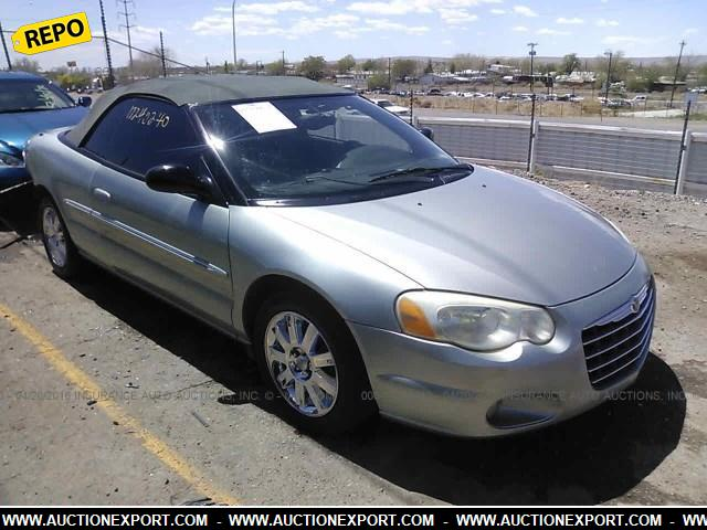 used 2004 chrysler sebring limited repo car for sale at. Black Bedroom Furniture Sets. Home Design Ideas