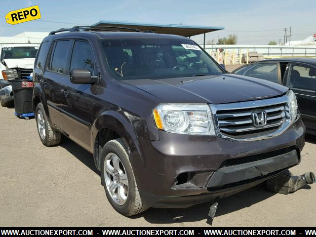Repo Cars For Sale >> Used 2012 Honda Pilot Exl Repo Car For Sale At Auctionexport