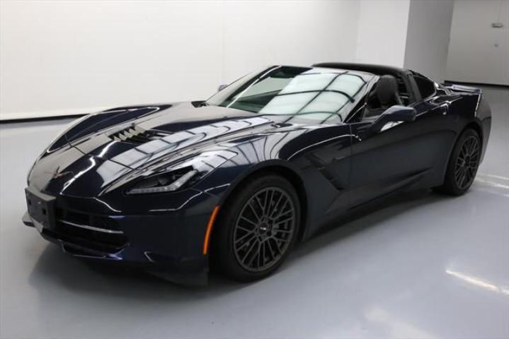 used 2015 chevrolet corvette stingray car for sale at auctionexport. Black Bedroom Furniture Sets. Home Design Ideas