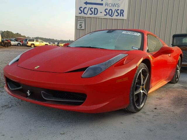 used 2014 ferrari 458 spider car for sale at auctionexport. Black Bedroom Furniture Sets. Home Design Ideas