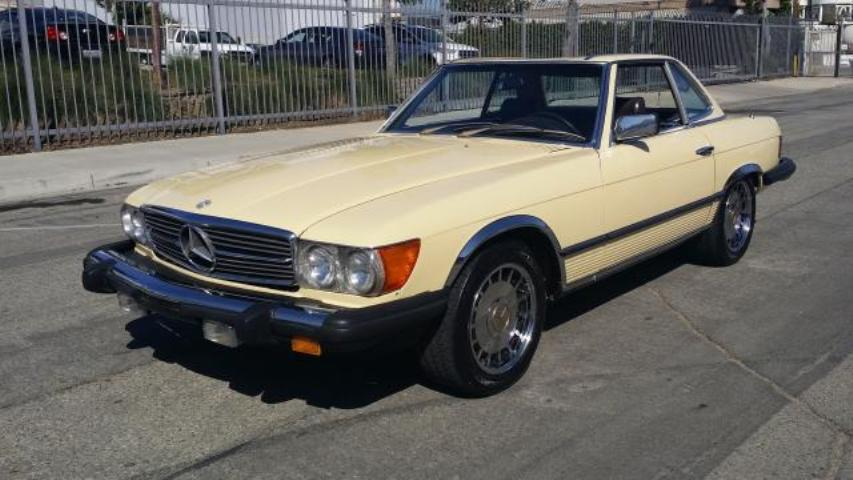 Used 1981 mercedes benz 380 car for sale at auctionexport for Used mercedes benz cars for sale
