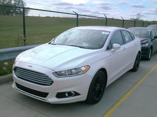 Used 2015 Ford Fusion Se Car For Sale At Auctionexport