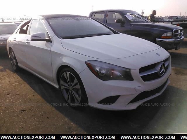 Used 2016 mercedes benz cla250 car for sale at auctionexport for Mercedes benz cla250 used