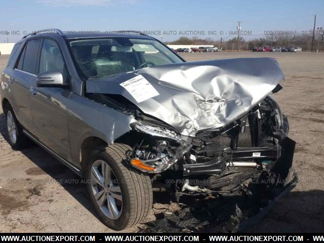 Damaged Salvage Accidental Mercedes Benz Ml 350 Car For Sale