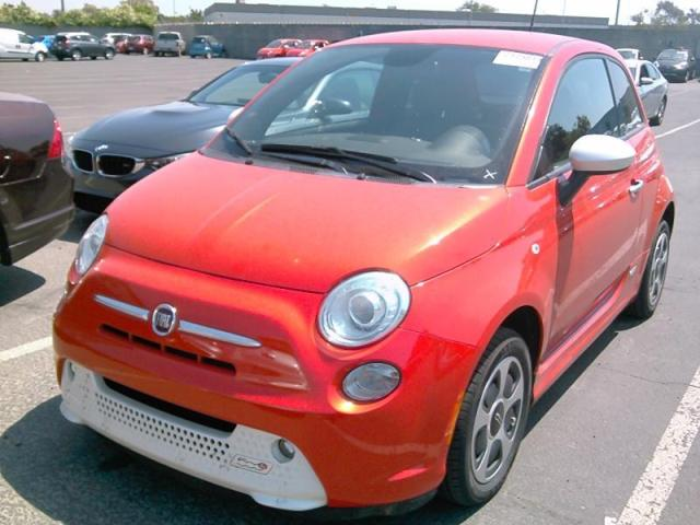 Used 2014 Fiat 500e Battery Electric Car For Sale At Auctionexport