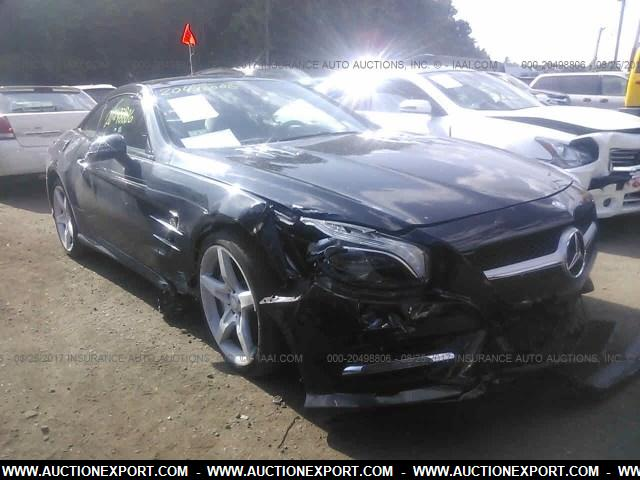 Damaged salvage accidental mercedes benz sl 400 car for sale for Salvage mercedes benz for sale ebay
