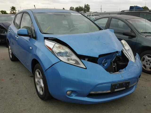 Nissan Salvage For Sale Repairable Cars At Auction Prices: Damaged/Salvage/Accidental NISSAN LEAF Car For Sale