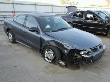 Visit Https Www Auctionexport En Cars Salvage Make Pontiac Model Grand Am Year 2005 Mileage 169938 0 Exempt Exterior Color Gray Interior