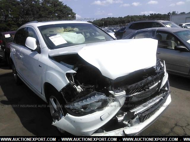 Damaged/Salvaged/Accidental AUDI Q7 car For Sale