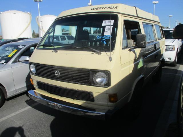 Damaged/Salvage/Accidental Volkswagen Vanagon Car For Sale