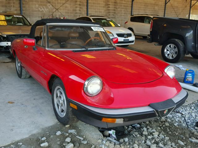 used 1983 alfa romeo veloce car for sale at auctionexport. Black Bedroom Furniture Sets. Home Design Ideas