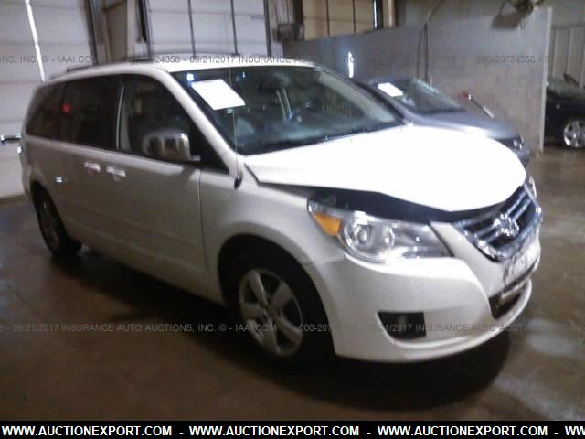 Damaged Salvage Accidental Volkswagen Routan Car For Sale