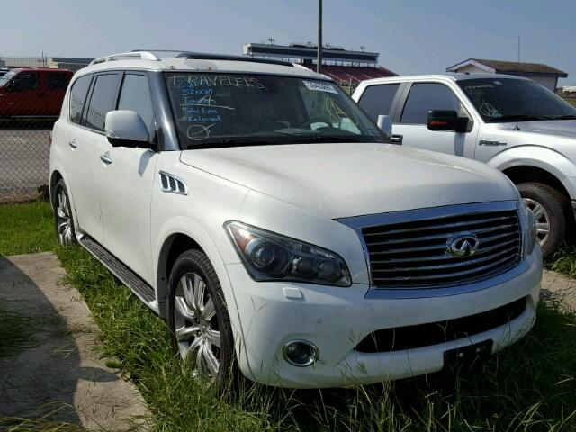 used 2012 infiniti qx56 car for sale at auctionexport. Black Bedroom Furniture Sets. Home Design Ideas