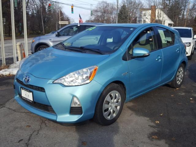 used 2012 toyota prius c base car for sale at auctionexport. Black Bedroom Furniture Sets. Home Design Ideas