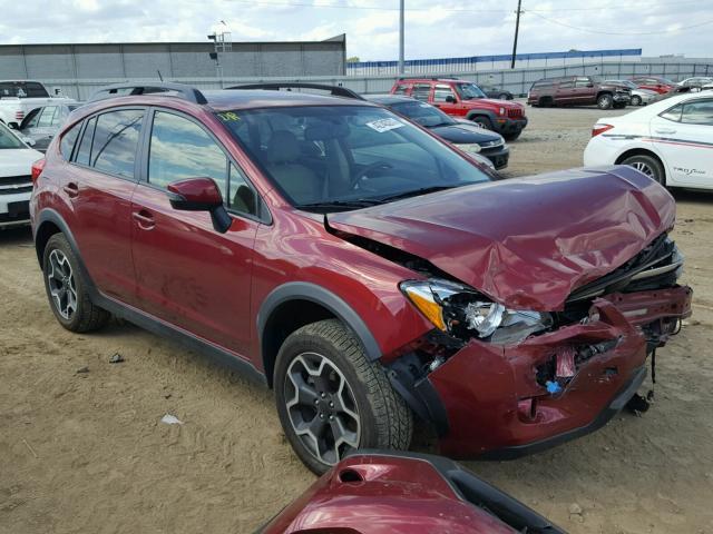 damaged salvage accidental subaru xv car for sale. Black Bedroom Furniture Sets. Home Design Ideas