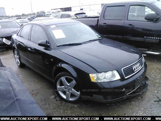 used 2003 audi a4 1 8 turbo car for sale at auctionexport. Black Bedroom Furniture Sets. Home Design Ideas