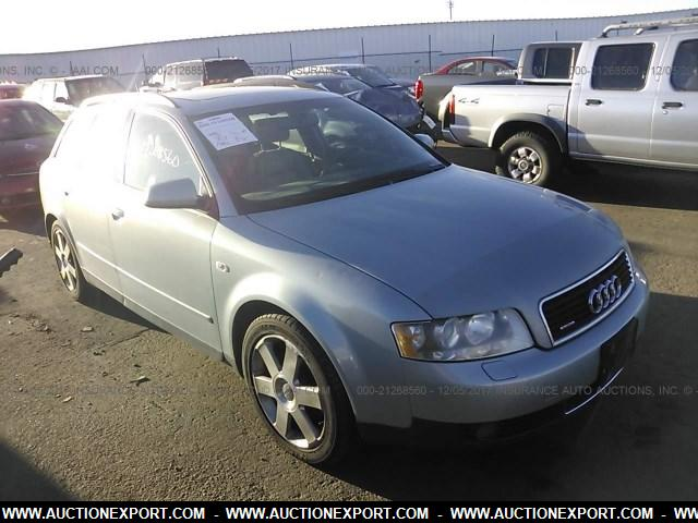 Used 2003 AUDI A4 1.8T AVNT QUATTRO Car For Sale At AuctionExport