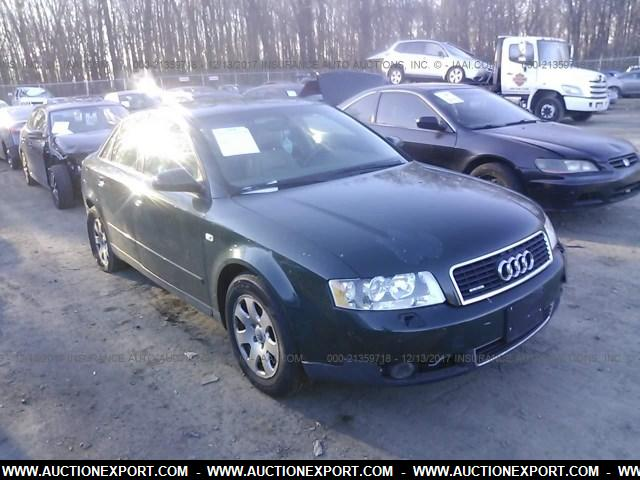 used 2003 audi a4 1 8t quattro car for sale at auctionexport. Black Bedroom Furniture Sets. Home Design Ideas