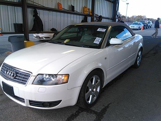 Used 2004 Audi A4 1 8t Cabriolet Car For Sale At Auctionexport