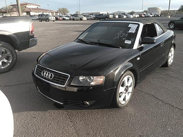 used 2006 audi a4 1 8 cabriolet car for sale at auctionexport. Black Bedroom Furniture Sets. Home Design Ideas