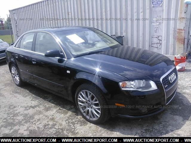 used 2008 audi a4 2 0t quattro car for sale at auctionexport. Black Bedroom Furniture Sets. Home Design Ideas