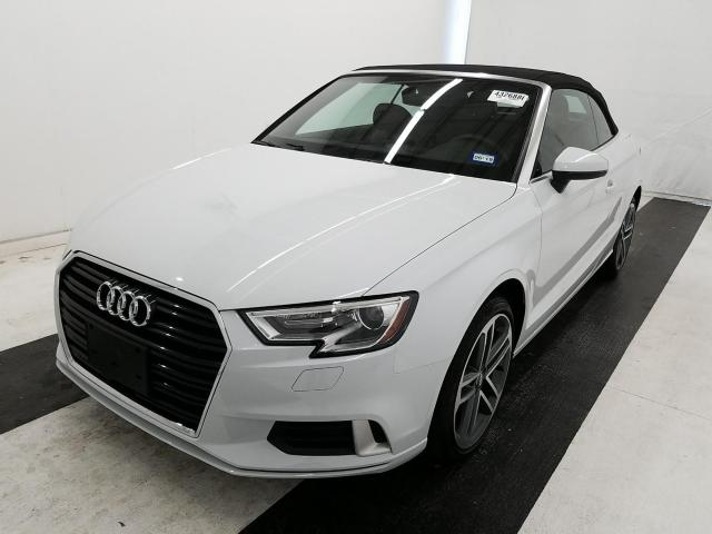used 2017 audi a3 cabriolet car for sale at auctionexport. Black Bedroom Furniture Sets. Home Design Ideas