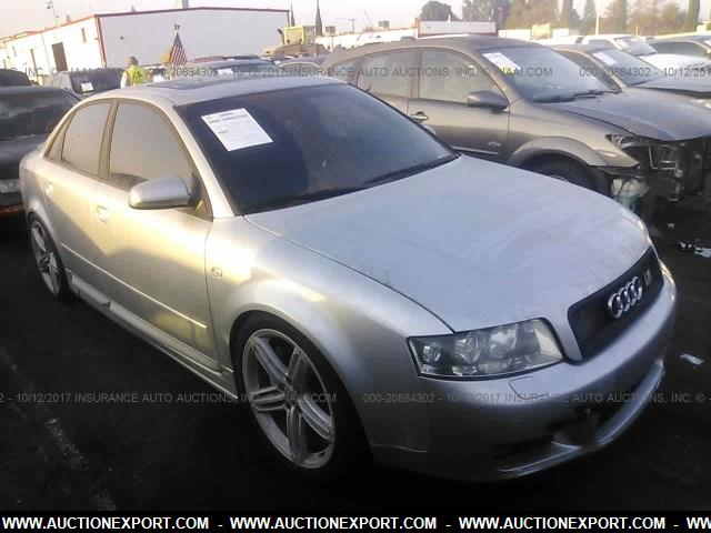 Used 2003 Audi A4 30 Quattro Car For Sale At Auctionexport