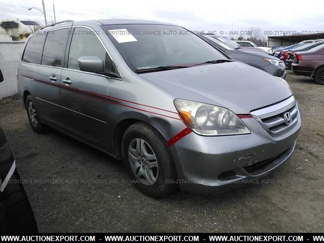 used 2006 honda odyssey ex sport van car for sale at auctionexport. Black Bedroom Furniture Sets. Home Design Ideas