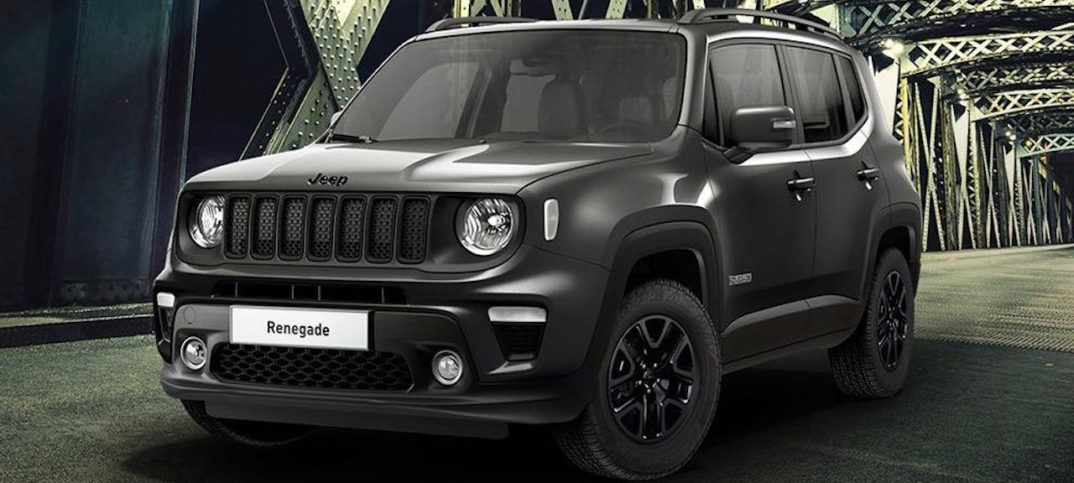 The New Jeep Renegade Night Eagle Completes The Range
